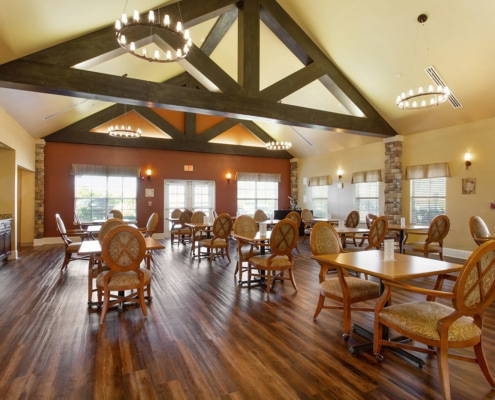 The Lodge at Aspen Village - Dining Room